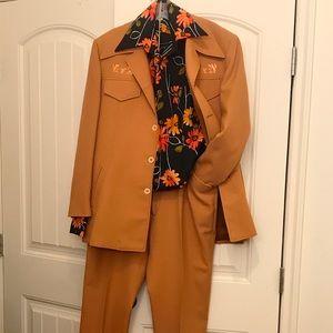 Vintage 70's Leisure Suit by Ghia Sportswear